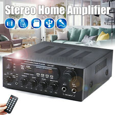 1000W 110V HiFi bluetooth Amplifiers Receivers Home Mixing Audio USB SD FM 2CH