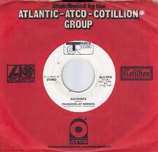 THUNDERCLAP NEWMAN  Accidents  rare promo 45 from 1970