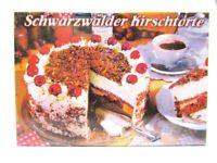 Schwarzwald Kirschtorte Forest Foto Magnet Germany 8 cm Reise Souvenir