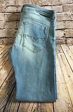 Diesel Safado Stretch Regular Slim Straight Jeans Men's Size 36X32