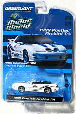 GREENLIGHT 1999 PONTIAC FIREBIRD TRANS AM WS6 DAYTONA 500 PACE CAR