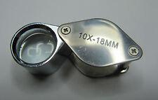 LENTE D'INGRANDIMENTO 10x 18 mm Gioielliere'S LOUPE UK Fornitore