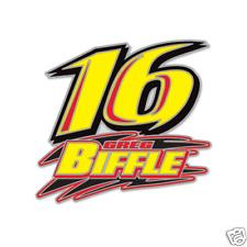 GREG BIFFLE #16 3M RACING NASCAR TEAM PIN ROUSH/FINWAY MOTORSPORTS