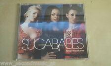 MAXI CD--SUGABABES--FOLLOW ME HOME---PROMO-1 TRACKS
