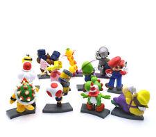 "Super Mario Bros 2-3"" Lot 11 BOWSER Figure Toy # MS2045"