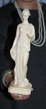 """26 Cm Vintage Desnudo Mujer Desnuda Modelo Arte escultor """"Made in Italy"""""""