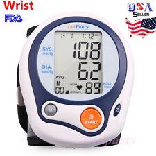 Wrist High Blood Pressure Cuff Monitor Sensor BP Machine Gauge Tester Syste