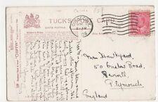 Mrs Hawkyard, 50 Onslow Road Plymouth 1908 Postcard, B153