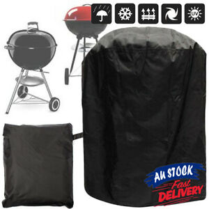 70x70cm Patio Kettle Round Garden Waterproof Barbecue Protector BBQ Grill Cover