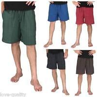 Baggy Shorts Men's One Size 100% Cotton Shorts, Hippie Boho Yoga Shorts