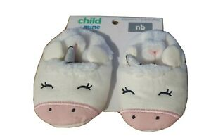 Child Of Mine Made By Carters Unicorn Slippers For Newborn