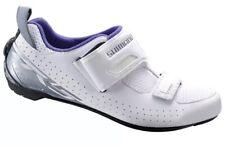 Shimano SH-TR5 Women's Triathlon Cycling Bike Shoes White TR5W - 39 (US 7.2)