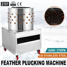 New Turkey Chicken Plucker Plucking Machine Poultry De-Feather #50 S