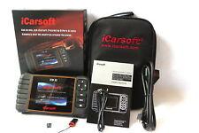 ICarsoft fdii OBD profundidades diagnóstico encaja en Ford Edge, ecu, ABS, airbag....
