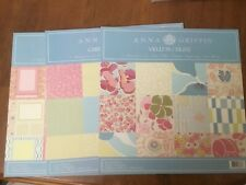 Anna Griffin Elsie Cardstock, Vellum, and Layout Pack Bundle Paper Set