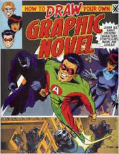 How to Draw Your Own Graphic Novel, New, Frank Lee Book