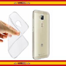 Funda TPU 100% de Gel Silicona Antihuellas Transparente Para Huawei G8 Carcasa