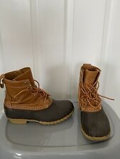 """WOMEN'S LL BEAN """"Bean Boots"""" 7 Wide with Thinsulate Lining. In Great Shape!"""