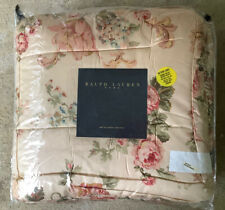 Very Rare NeW SUSSEX GARDENS Queen BeD Quilt Quilted Sateen Comforter Gorgeous!