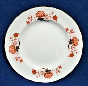 "New ROYAL CROWN DERBY Bone China England BALI #A1100 10 1/2""d Dinner Plate"