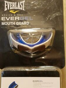 Everlast EverGel 3-Layer Mouthguard + Case for Boxing MMA Fight Sports Wrestling