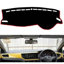 Dash Mat Cover with Red Stripe Line for 2018 - 2020 Volkswagen VW Polo MK6 AW