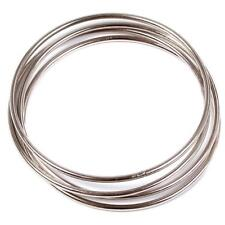 4Pcs Magic Chinese Linking Rings Set Magnetic Lock Kids Party Show Stage Trick F