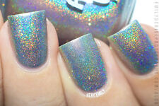Polish Me Silly Chasing Rainbows Holographic Glitter Nail Polish Indie Polish