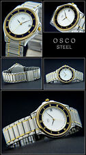 Bi-Colour Osco Elegant Men's Watch Attractive Action OFFER NEW