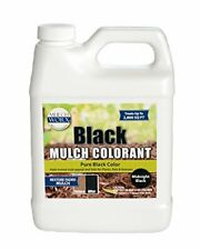 Mulch Color Concentrate Safe Pure Midnight Black Dye Spray Non Toxic 2,800 Sq Ft