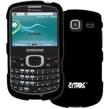 EMPIRE Black Hard Rubberized Case Cover Accessory for Samsung Freeform 4 R390