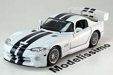 1:18 Maisto Dodge Viper GT2 white/blue