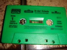 Cassette - In der Schule Geschichten und Lieder
