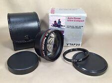 Lenmar Hi-Resolution 2.0x Telephoto Lens VTAF20 - Japan - NOS