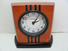 ART DECO STYLE CLOCK CASE FOR PARTS