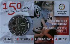 2 Euro commémorative de Belgique 2014 Brillant Universel (BU) - Croix Rouge