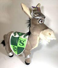 "Donkey Knight Shrek Plush Nanco Dreamworks Stuffed Animal 11"" Shrek The Third"