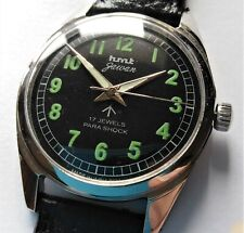 Superb Military Style HMT JAWAN Indian Hand Winding (Luminous Hands) Wristwatch