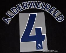 Tottenham Alderweireld Premier League Football Shirt Name Set Sporting ID 17/18