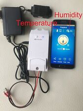 Gas Fireplace programmable Thermostat/Timer Remote/Receiver & Control Humidity