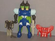 """G1 TRANSFORMER PRETENDER DOUBLEHEADER COMPLETE # 4 CLEANED """"LOTS OF PICS"""" RARE!"""