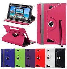 Universal 360 Giratorio Piel Funda con Soporte 7-10Inch Tab Android Tablet PC