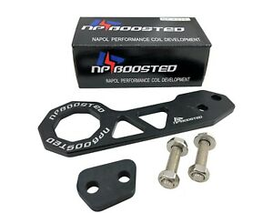 UNIVERSAL BILLET CNC ALUMINUM RACING REAR TOW HOOK JDM ANODIZED LOW CLEARANCE
