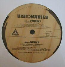 """VISIONARIES ~ Pancaea / Strike ~ 12"""" Single USA PRESS"""