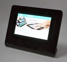 Samsung Galaxy Tab 3 7.0 Black Acrylic Desktop Stand for POS, Kiosk, Show Disp