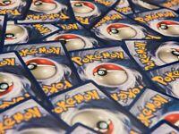 100 Random Common/Uncommon/Rare Pokemon Cards (No Duplicates) Holos Included!!