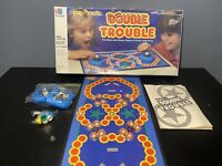 Vintage 1987 Milton Bradley Double Trouble Board Game Full 100% Complete