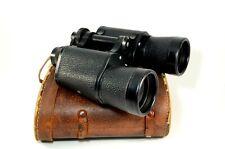 Zuiho Tokyo Japan Military War Era Binoculars 10x50 Field 5° Coated Lenses Case