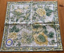 NEW April Cornell Pillow Cover 100% Cotton Floral INDIA