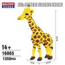 Baukästen 16065 Gebäude Giraffe Modellbausätze Modell Geschenke OVP